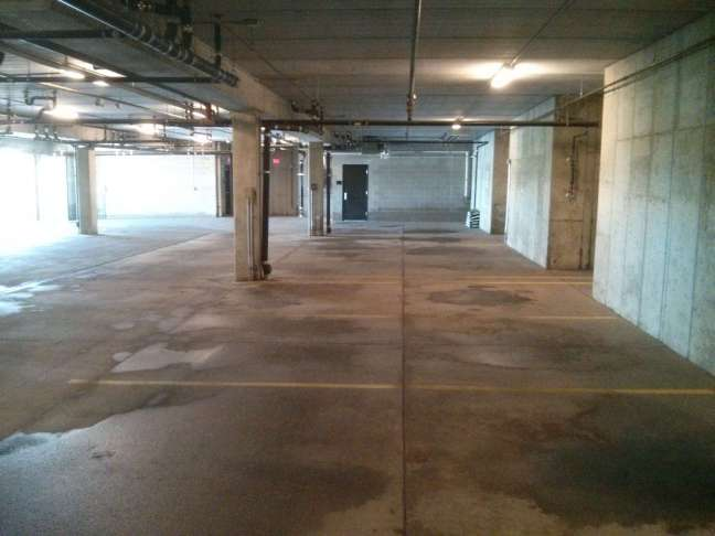 Parking Garage Pressure Wash Cleaning Contractor in Maple Grove MN