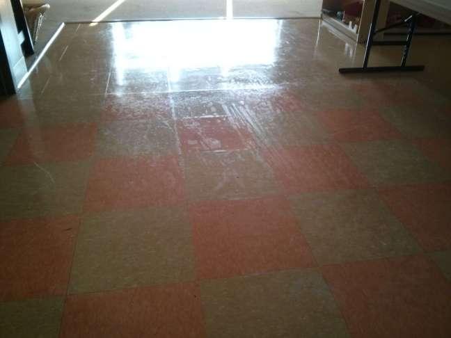 Poor Floor Finish Coalescence