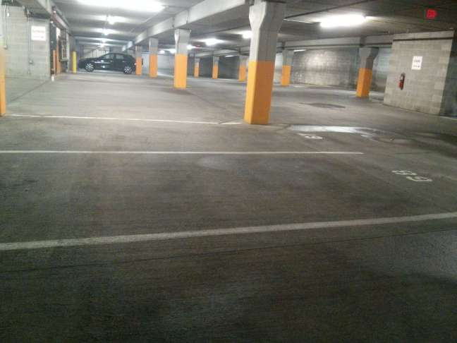 Commercial Parking garage floor cleaning services Minneapolis