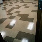 VCT Floor Tile Floor Strip and Recoat Job in Mounds View, MN