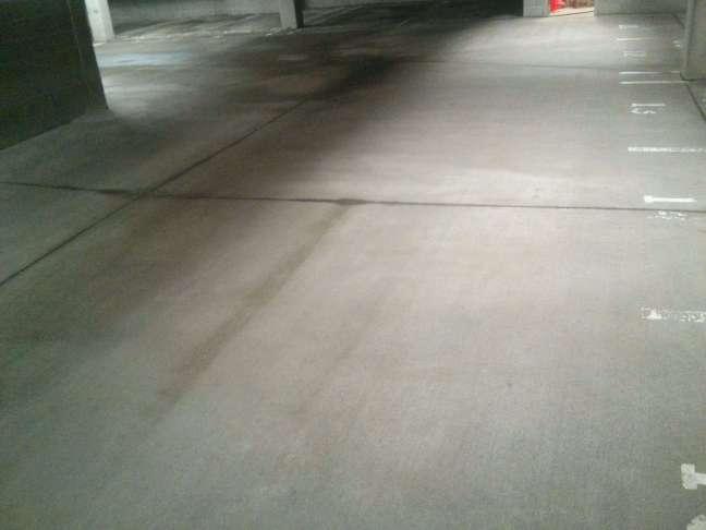 Parking Garage Concrete Floor Pressure Washing Services in Minneapolis