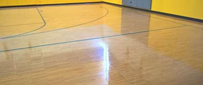 Wood Gym Floor Coatings Service in Minneapolis