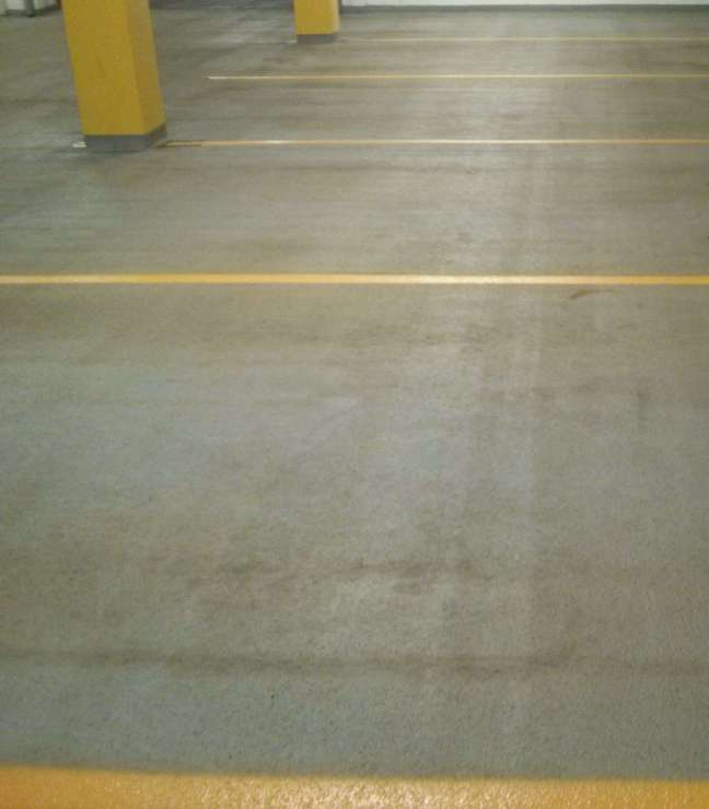 Parking Garage Floor Cleaning and Re-Striping in Minneapolis