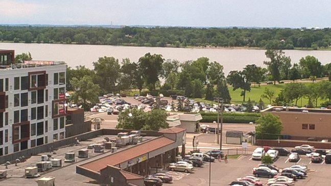 View of Lake Calhoun in Minneapolis