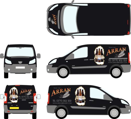 Arran Brewery Van