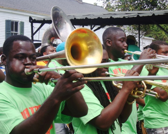 It's Not A Second Line Without That Hot Brass