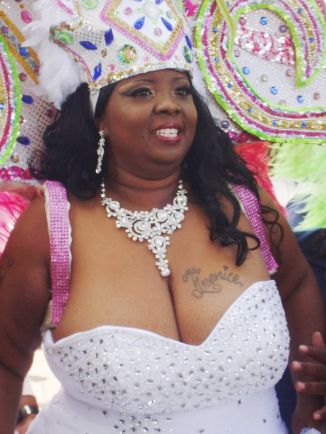 Queen Trenice Jenkins of 2015 Women Of Class Social Aid And Pleasure Club Second Line