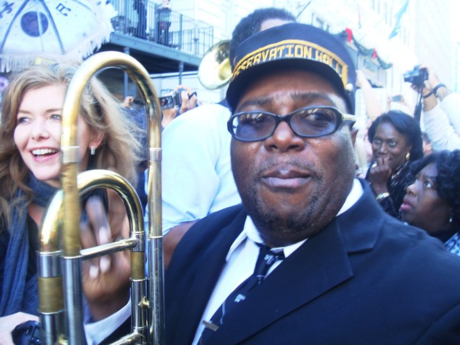 Preservation Hall Jazz Band At Allen Toussaint's Funeral