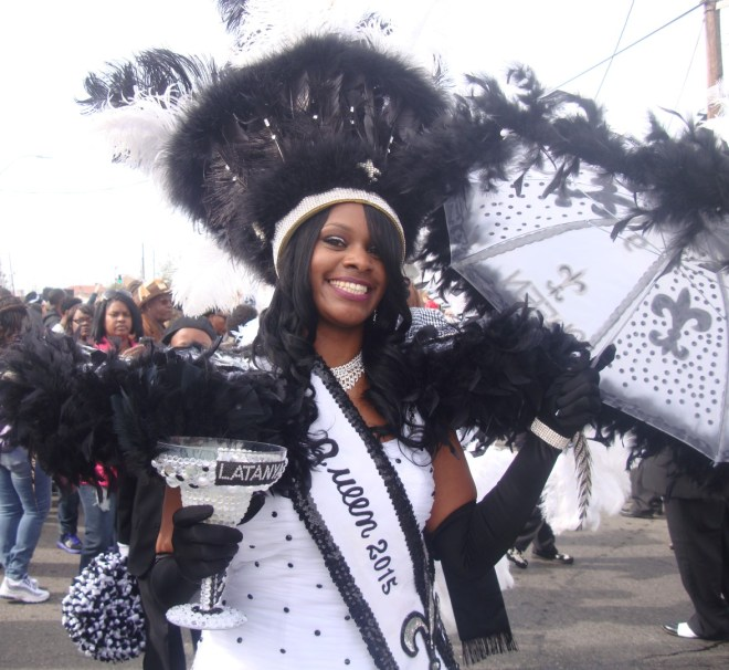 2015 Big Nine Social Aid and Pleasure Club Second Line Parade