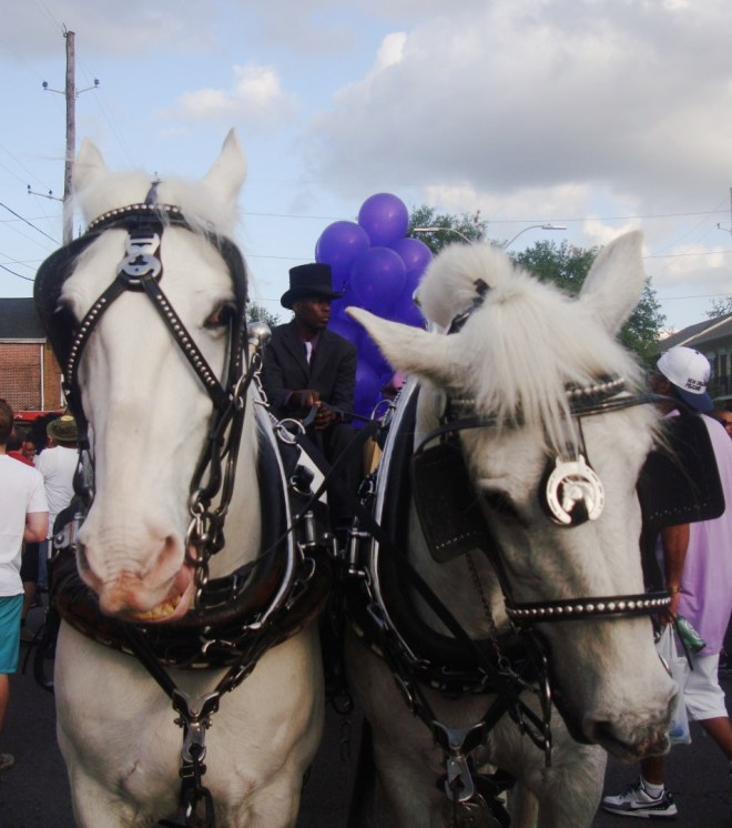 Prince Second Line Parade In New Orleans