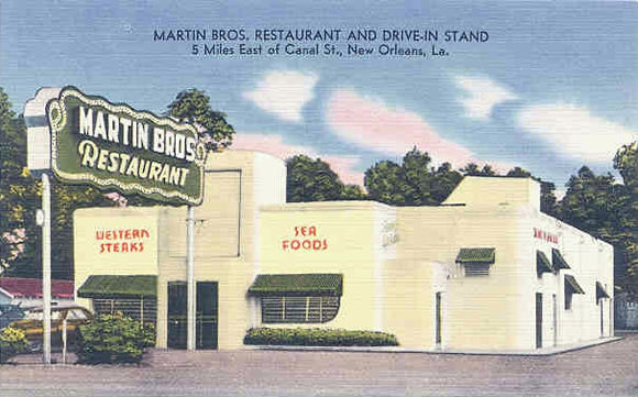 Martin Brothers. Inventors Of The Poor Boy Sandwich