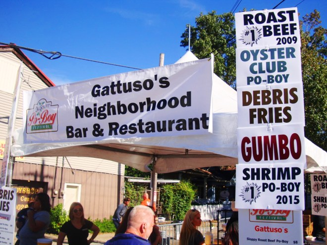 Gattuso's Restaurant At 2016 Po Boy Fest