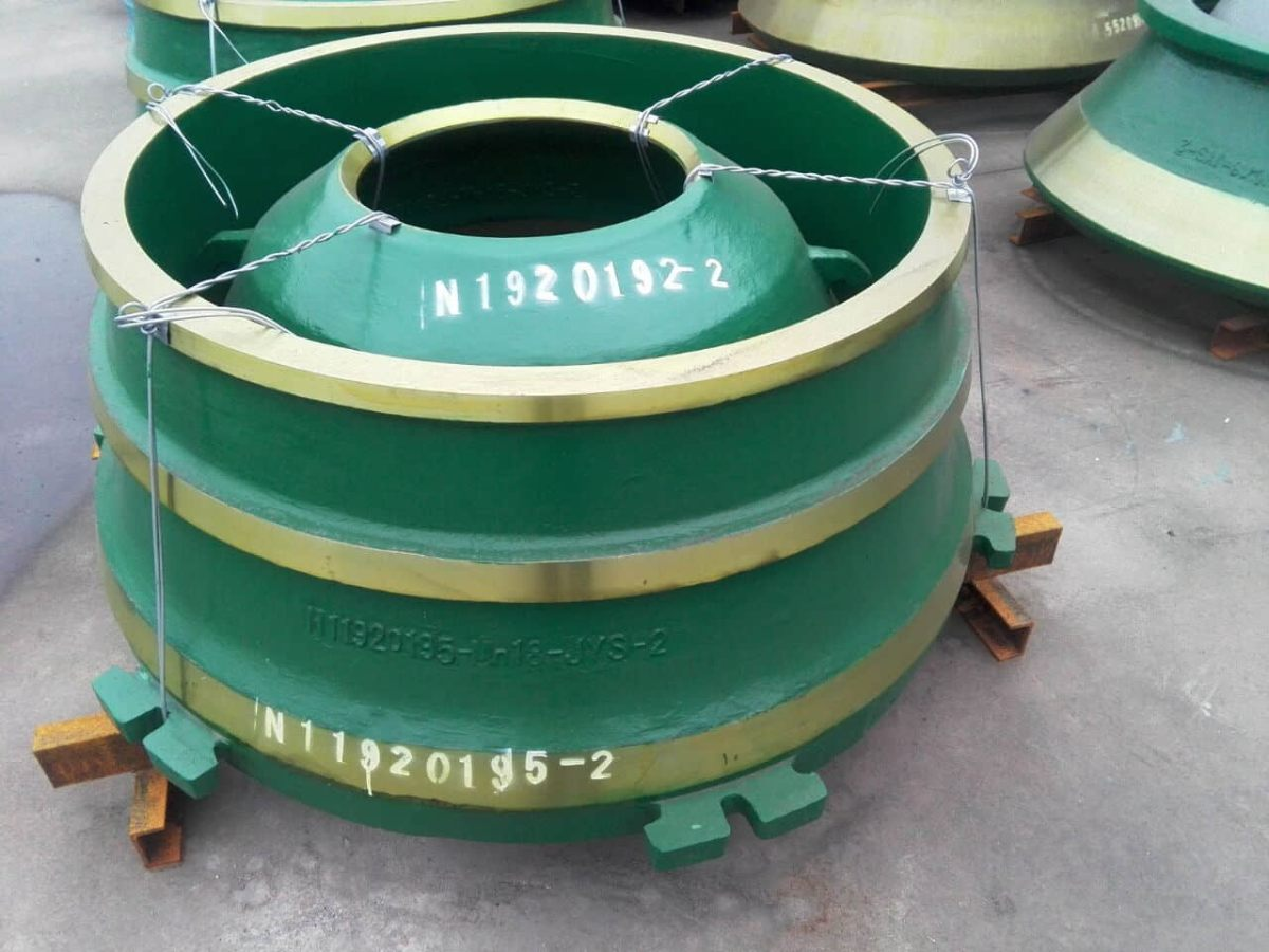Metso GP300 Cone Crusher Parts