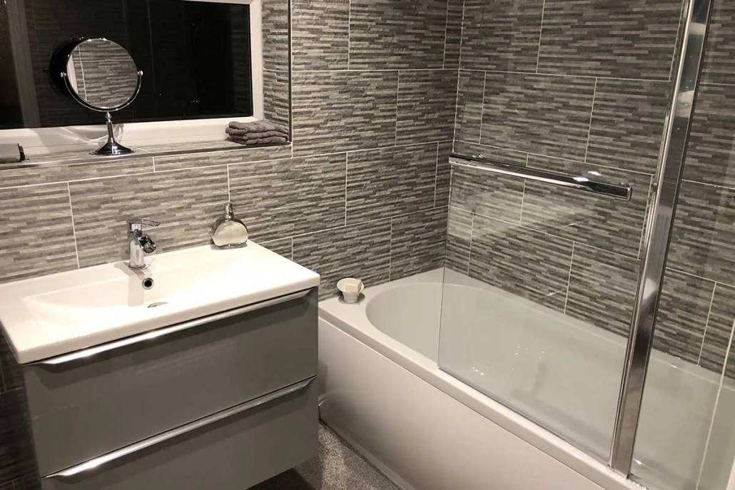 After - Bathroom renovation