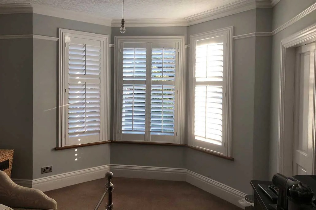 Shutter blinds, painting and decorating