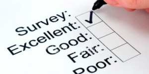 Image of check list evaluation survey