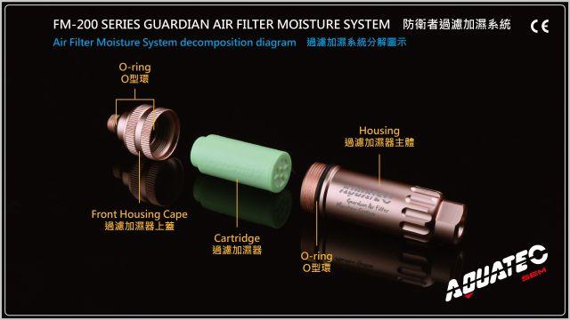 Guardian Air Filter Moisture System