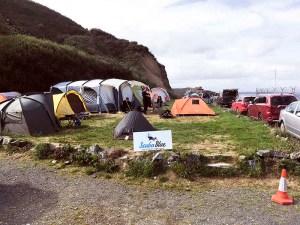 Camping at Porthkerris