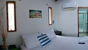 Beach habitación Scuba Boutique hotel San Andrés