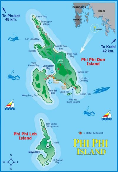 All4Diving » Phi Phi Islands Thailand • Holiday ...
