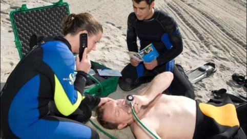 Wellington PADI Oxygen Provider course, Scuba Shop dive gear diving equipment Wellington.