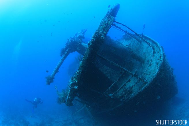 Thistlegorm shipwreck WWII wreck scuba diving in the Red Sea