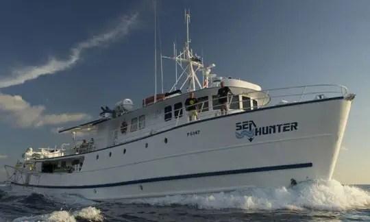 MV Sea Hunter liveaboard scuba diving Cocos Island Cost Rica