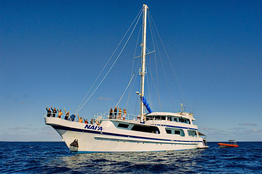 The Nai'a Fiji Liveaboard dive boat