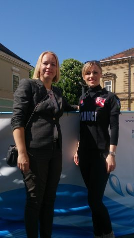 Kristina Ikić Baniček i Andreja Vedrina