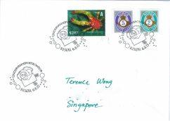 Razglednica poslana iz podvodnog poštanskog sandučića u Norveškoj