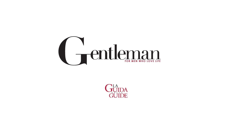 GENTLEMAN 2021 – LA GUIDA DELLE GUIDE