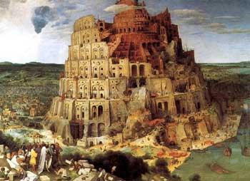 PIETER BRUEGHEL, La grande Torre di Babele, 1563 (Wien, Kunsthistorisches Museum)
