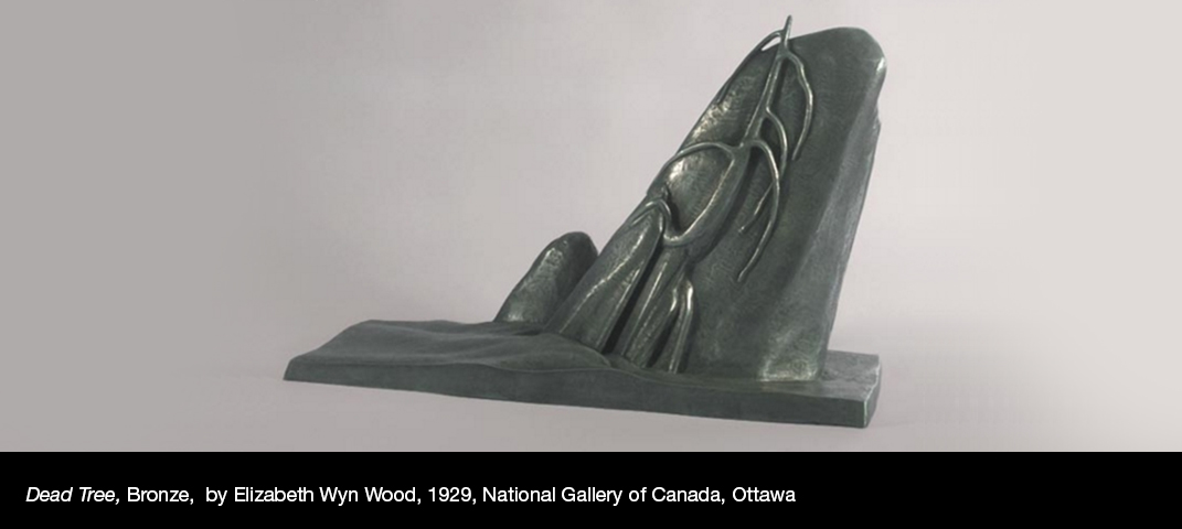 Dead-Tree-Bronze-by-Elizabeth-Wyn-Wood-1929-National-Gallery-of-Canada-Ottawa