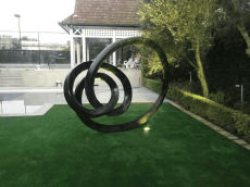 Sculptura Evolve Bronze Garden Sculpture 002