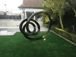 Sculptura Evolve Bronze Garden Sculpture 002