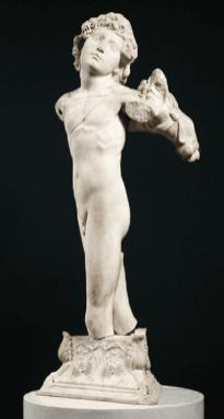 Sculptura Top 100 historical sculptures - 81. Cupid - Michelangelo