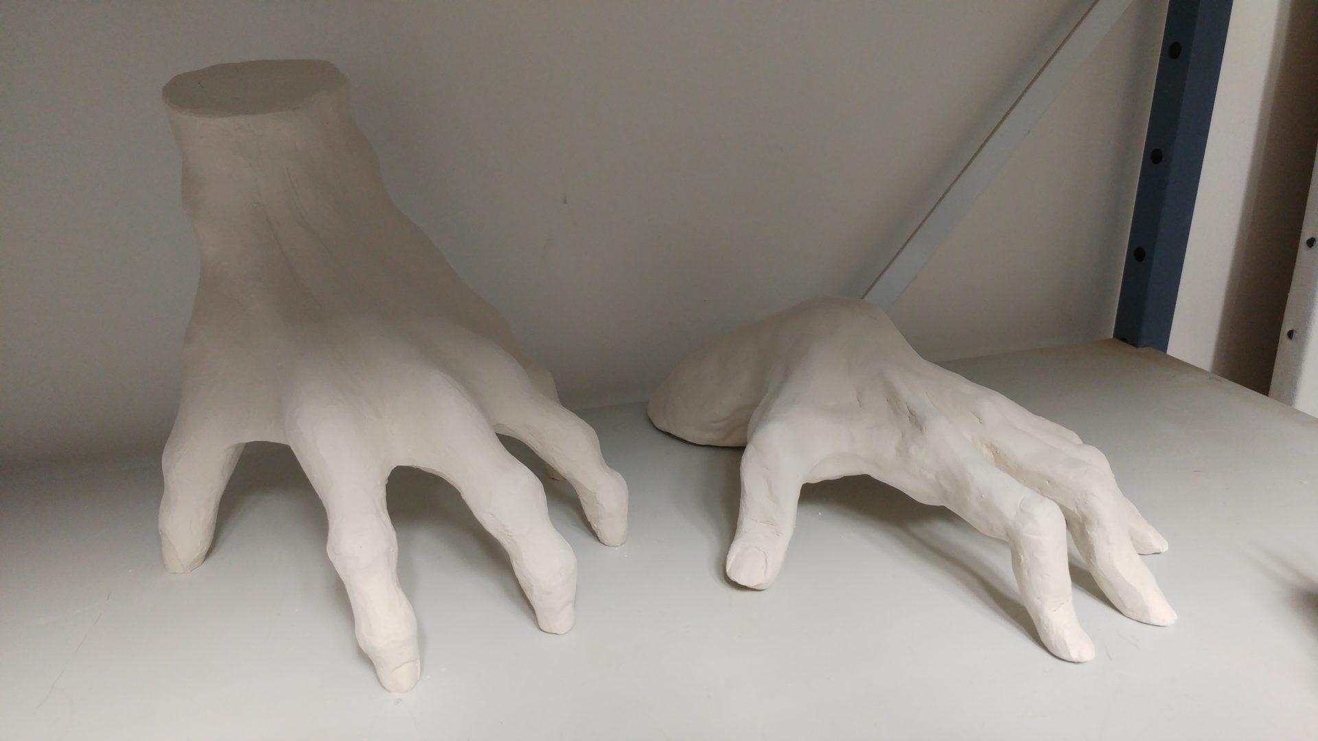cours adultes sculpture de mains