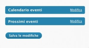 widget eventi