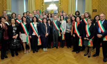 Delegazione con On Boldrini 9-04-14