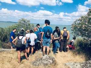 L'esplorazione dell'isola, durante la seconda giornata