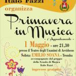 """Il manifesto del 2° appuntamento di """"Primavera in Musica"""""""
