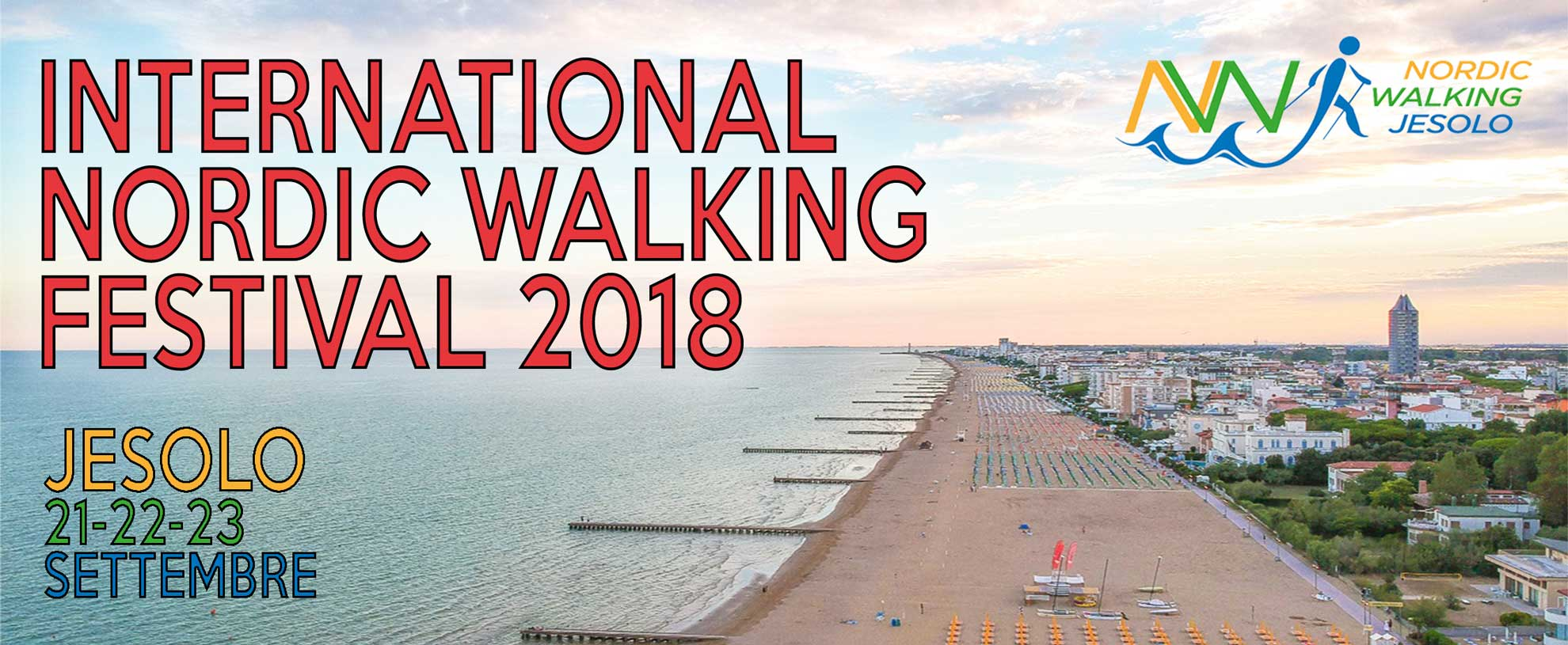 International Nordic Walking Festival 2018 Jesolo