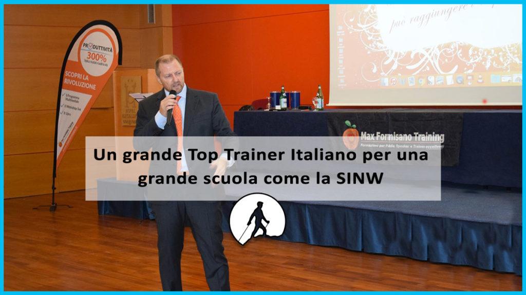Un grande Top Trainer Italiano per una grande scuola come la SINW