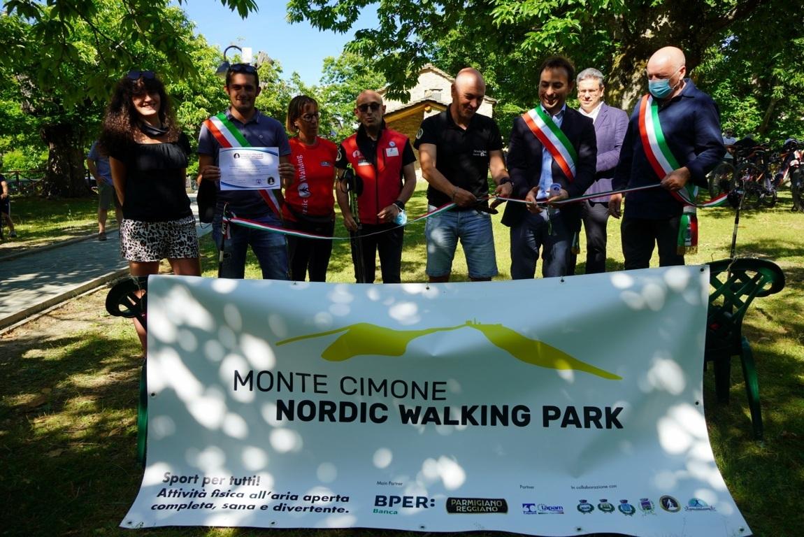 Inaugurato nel modenese un NW Park di 40km e 10 percorsi
