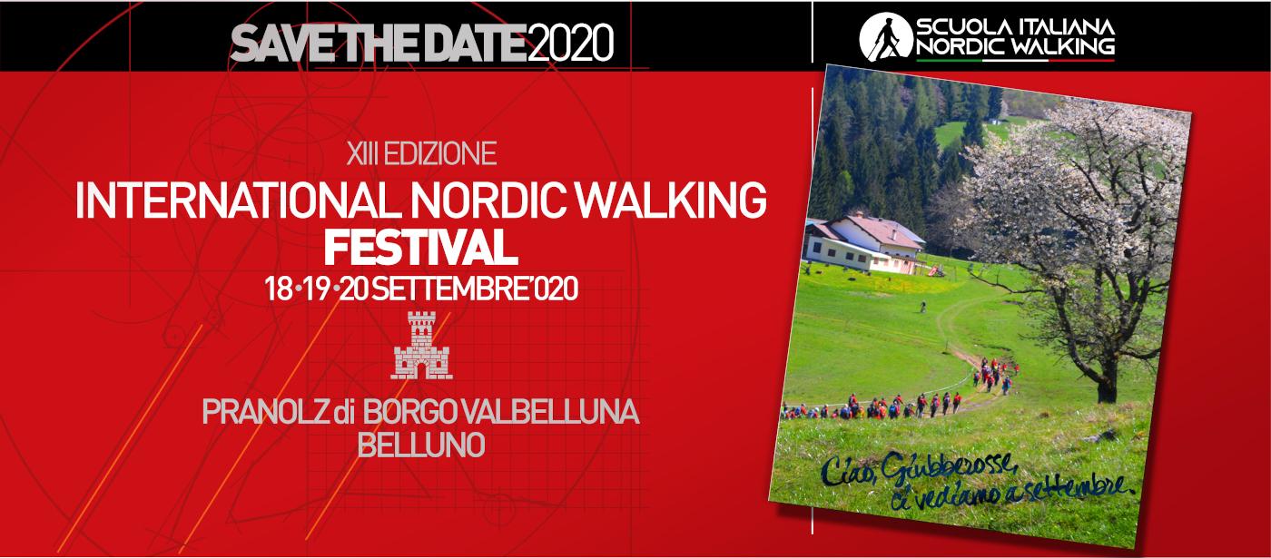 XIII International Nordic Waliking Festival: la nuova festa rossa sulle dolomiti bellunesi