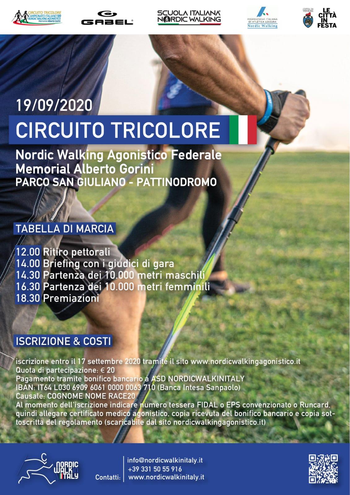 Riparte il Campionato Italiano Fidal Nordic Walking