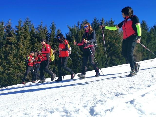 Attese soddisfatte per il primo corso di specializzazione in Nordic Walking Invernale