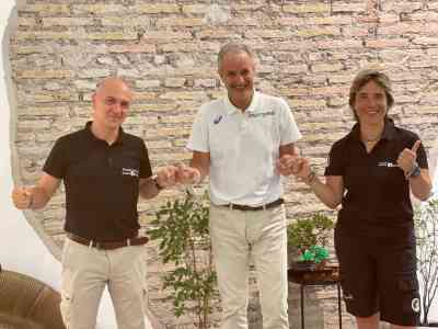 Accorso Sport City Fabio Pagliara Fabio Moretti Alessandra Cazzola