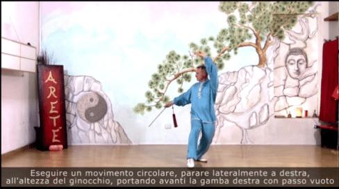 Frame dal video corso sulla Forma 8