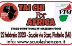 Tai Chi For Africa 2020